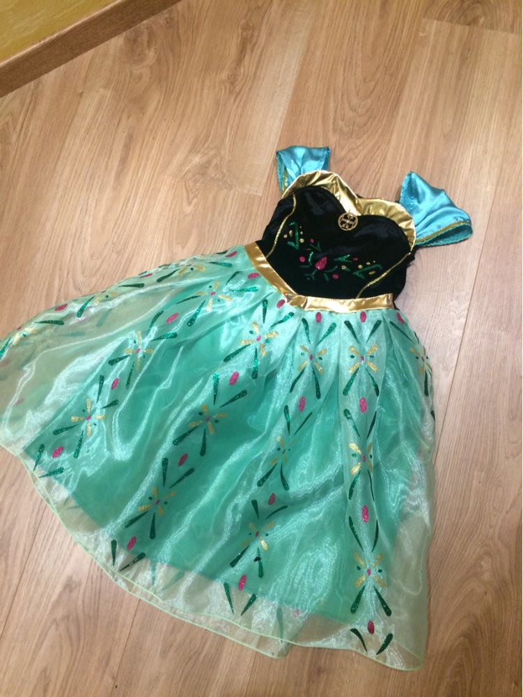 Hot Girl dress baby Kids Dresses Clothes Children Clothing princess cute Elsa Anna Party Dress Vestidos infants Cosplay Costume