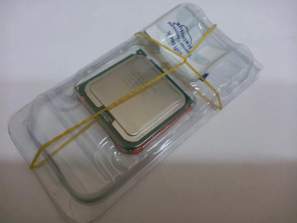 Intel Xeon E5450 (3.0GHz/12M/1333)Processor close to LGA775 Core 2 Quad Q9650 CPU, works on LGA 775 mainboard no need adapter