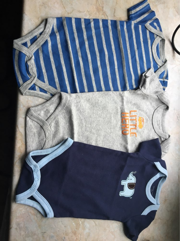 New 3PCS Baby Boy Rompers Baby Clothing Set Summer Cotton Baby Girl Boy Short Sleeve Car Printed Jumpsuit Newborn Baby Clothes