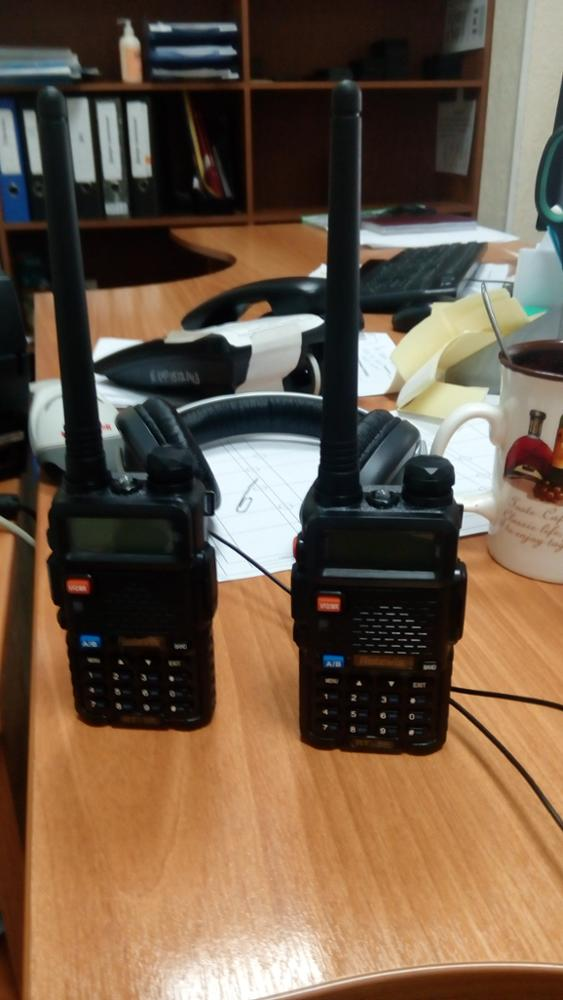 2pcs Portable Walkie Talkie Retevis RT-5R 5W VHF UHF 136-174MHz+400-520MHz Handy Two Way Radio Professional Walkie-Talkie RT5R
