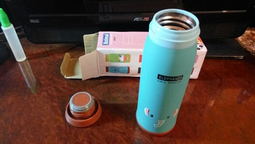 500ml Thermos Cup Thermos Mug Insulated Tumbler Travel Cups Stainless Steel Vacuum Cup FEN#