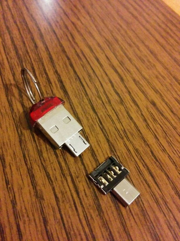 CEL Mini USB 2.0 Micro USB OTG Converter Adapter Cellphone TO US  DEC8