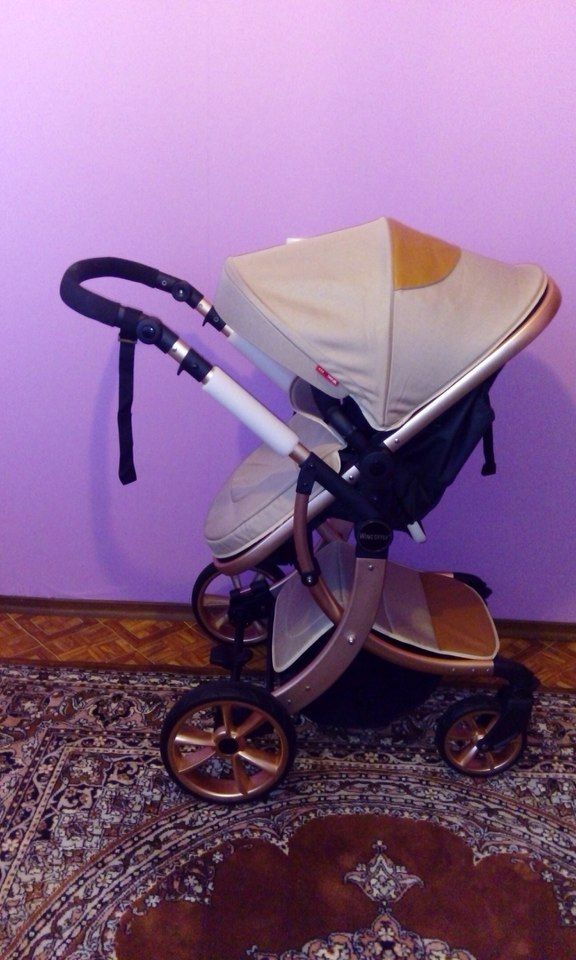 wingoffly baby stroller 2 in1 stroller four seasons Russia free shipping
