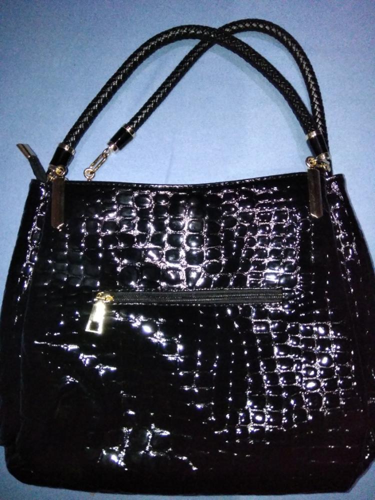 7459318effb2 2015 Alligator Leather Women Handbag Bolsas De Couro Fashion Famous Brands  Shoulder Bag Black Bag Ladies