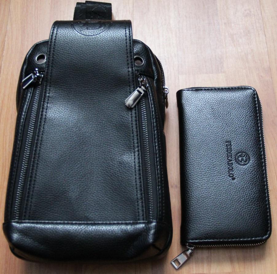FD BOLO Brand Bag Men Chest Pack Single Shoulder Strap Back Bag Leather  Travel Men Crossbody 623874d1885df